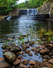 local landscapes waterfall